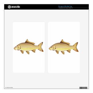 Common Golden Carp Vector Art Kindle Fire Decals