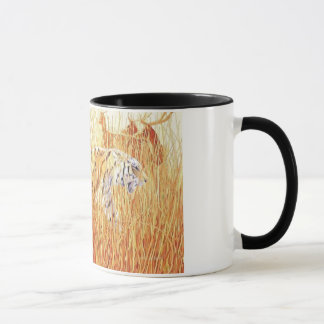 """Common Ground"" Tiger in Grass Mug"