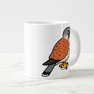 Common Kestrel Giant Coffee Mug