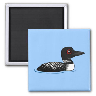 Common Loon, breeding adult Magnet
