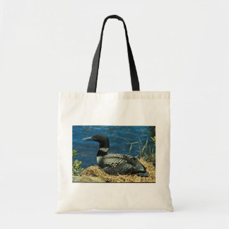 Common Loon Budget Tote Bag