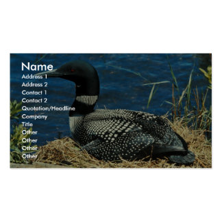 Common Loon Business Card