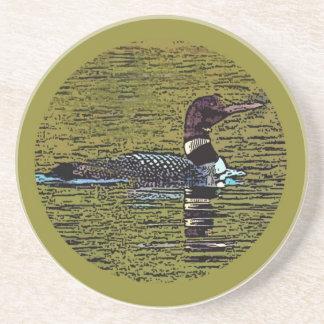 Common Loon Coaster