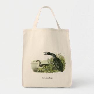 Common Loon, John Audubon Tote Bag