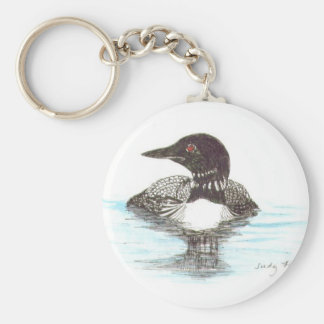 Common Loon Keychains