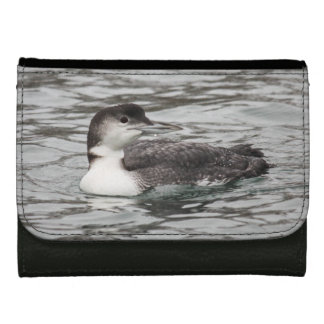 Common Loon Leather Wallet For Women