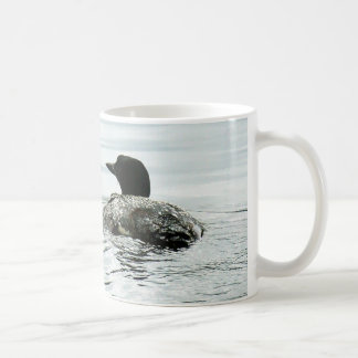 Common Loon On the Water Classic White Coffee Mug