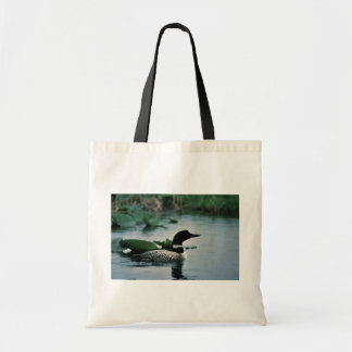Common Loon on Water Tote Bag
