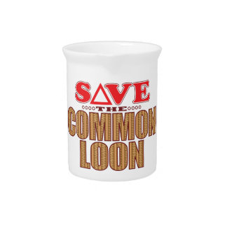 Common Loon Save Beverage Pitcher
