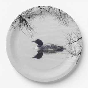 Loon Plates | Zazzle
