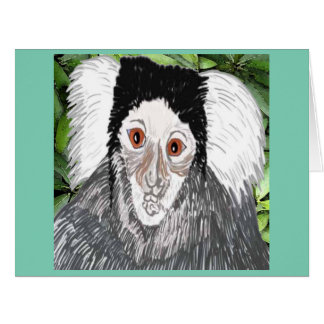 Common Marmoset Card