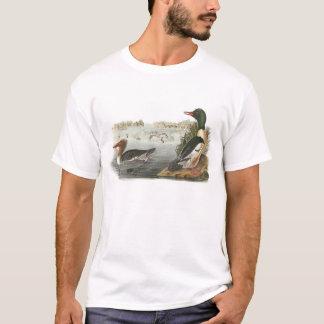 Common Merganser by Audubon T-Shirt