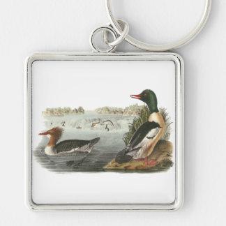 Common Merganser, John Audubon Key Chains