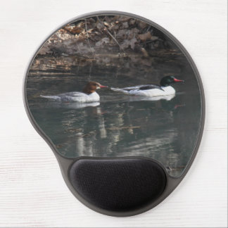 Common Mergansers Gel Mouse Pad