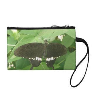 Common Mormon Butterfly Bagettes Bag Coin Purses