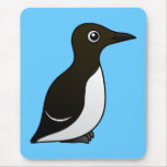 Common Murre (standing) Mouse Pad
