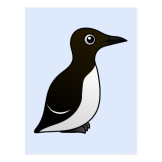 Common Murre (standing) Postcards