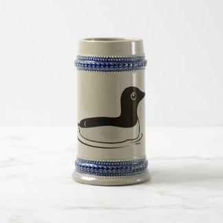 Common Murre (swimming) 18 Oz Beer Stein