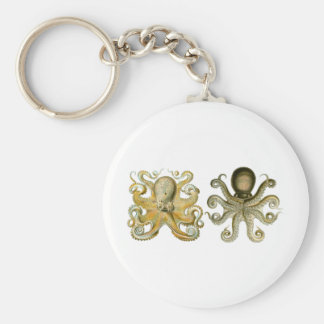 Common Octopus Keychains