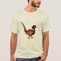 Common Pheasant Men's Basic T-Shirt