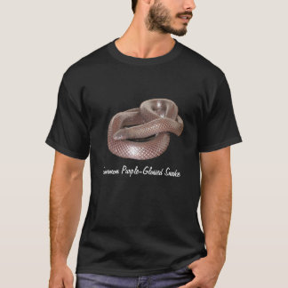 Common Purple-Glossed Snake Basic Dark T-Shirt