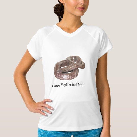 Common Purple-GlosseLadies Micro-Fiber Sleeveless T-Shirt