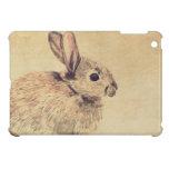 Common Rabbit Watercolour Sketch iPad Mini Case