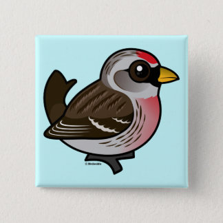 Common Redpoll Pinback Button