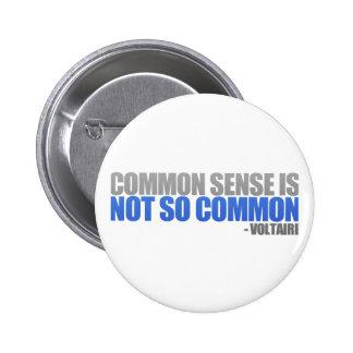 Common Sense Buttons
