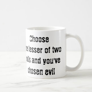 Common Sense Choices Quote CricketDiane Election Coffee Mug
