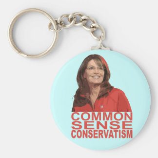 Common Sense Conservatism Keychain