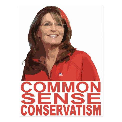 Common Sense Conservatism Postcard