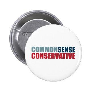 Common Sense Conservative Buttons