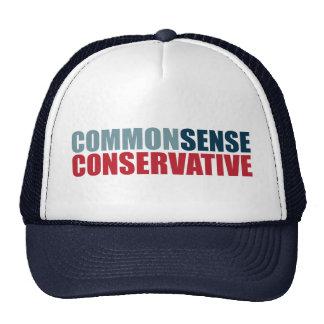 Common Sense Conservative Trucker Hat