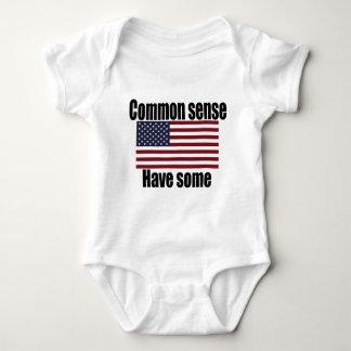 Common Sense Have Some American Flag Tshirt