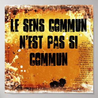 Common Sense is not so Common Print