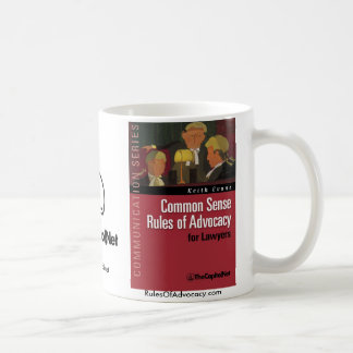 Common Sense Rules of Advocacy mug