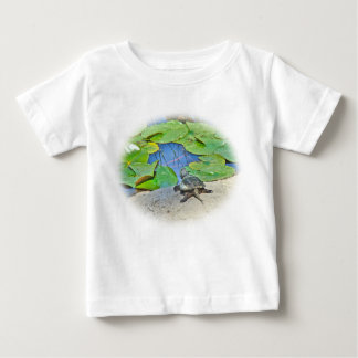 Common Snapping Turtle - Chelydra serpentina Baby T-Shirt