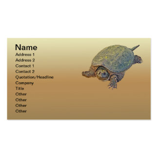 Common Snapping Turtle - Chelydra serpentina Business Card