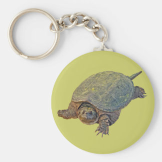 Common Snapping Turtle - Chelydra serpentina Keychain