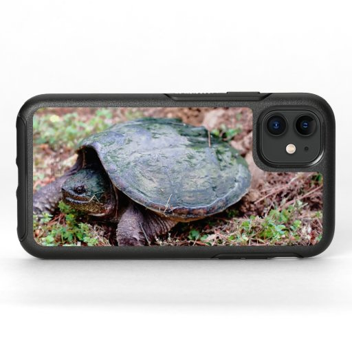 Common Snapping Turtle, Otterbox iPhone 11 Case.