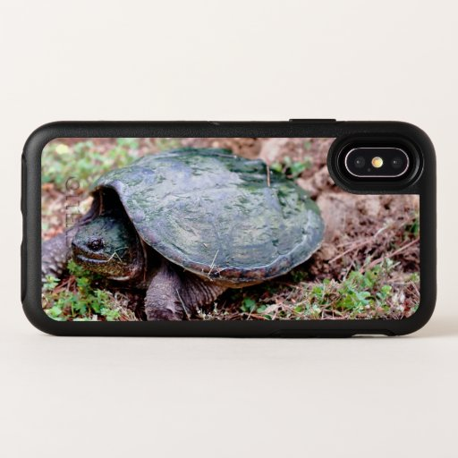Common Snapping Turtle, Otterbox iPhone X Case.