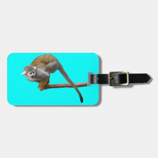 Common Squirrel Monkey Luggage Tag