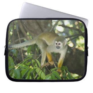 Common Squirrel Monkey, (Saimiri sciureus), Rio Laptop Sleeves