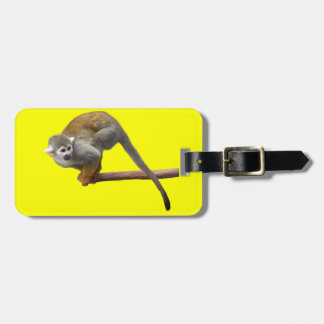 Common Squirrel Monkey Tag For Luggage