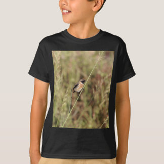 Common Stonechat (Saxicola torquatus) T-Shirt
