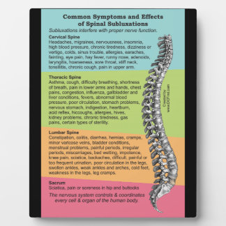 Common Symptoms Effects Spinal Subluxations Plaque