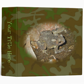 Common Toad Coordinating Items Binder