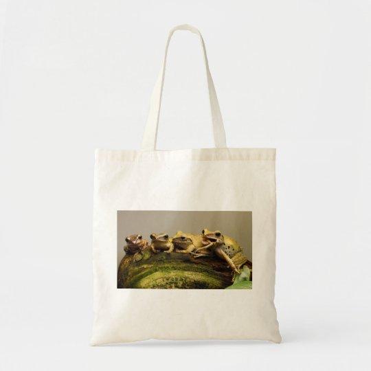 Common Tree Frog Polypedates Leucomystax Tote Bag