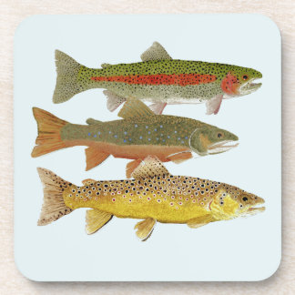 Common Trout Coasters